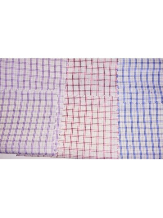 JS-JAMS  60%cotton  40%polyester  45*45  恤衫布15  格仔