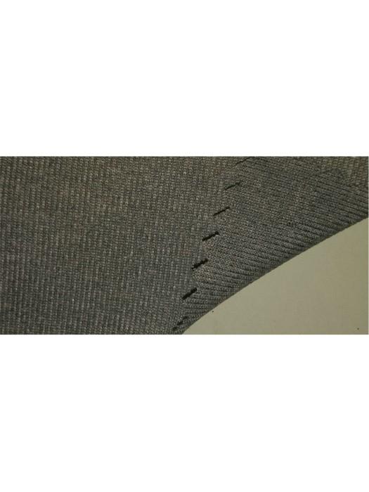 FJ-FRFE  DH-19216 1x1 RIB 100%polyester  grey hearther  62''/180GSM