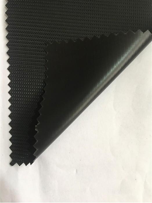JS-CNYI-200D 細十字 PVC-55 尼龍面料  背囊/雨衣面料   防水 防油 圍裙布料