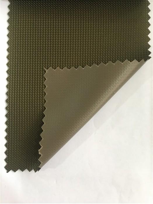 JS-CNYI-丹麥條 PVC-58 尼龍面料  背囊/雨衣面料
