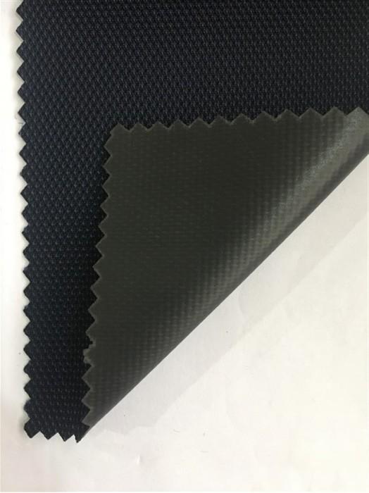 JS-CNYI-1000D 十字呢 PVC-62 尼龍面料  背囊/雨衣面料   防水 防油 圍裙布料