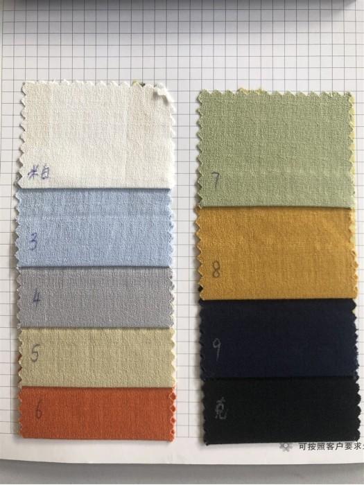 GZ-JCH JA395  高品質麻感彈力 成份:97%棉 3%氨綸