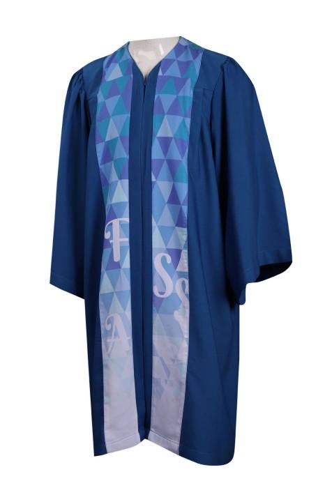 CHRO16 製作撞色聖詩袍 司禱 輔祭 HK 聖詩袍供應商