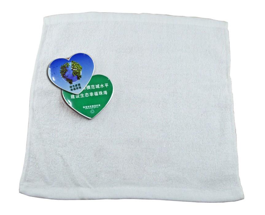 CPT004 自製壓縮毛巾 壓縮毛巾心形狀  方便易帶壓縮毛巾 設計毛巾logo印製  壓縮毛巾批發商HK