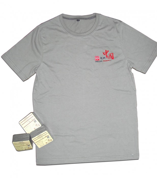 CPT009 來樣訂做壓縮T恤  訂購團體壓縮t-shirt  口袋T 壓縮T恤中心 壓縮t-shirt專門店HK