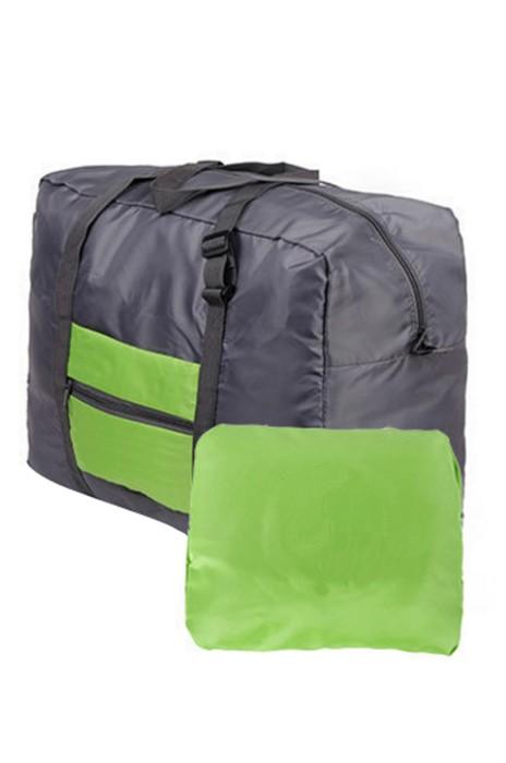 BP-067  製造防水尼龍折叠式旅行收吶包  設計手堤收吶袋 折叠袋行李包 手提包 行李包專門店 34.5*46*20CM