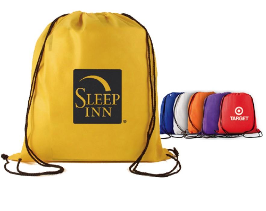 DWG002學生背包訂造 束口袋  抽繩雙肩訂做 滌綸布收納袋  抽拉式袋裝供應商HK       #34*43cm