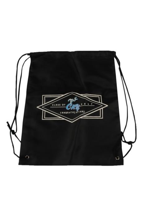 DWG016 網上下單索繩袋款式 製作印花LOGO索繩袋 束口袋 學校 班袋 印製索繩袋批發商     #34*43cm