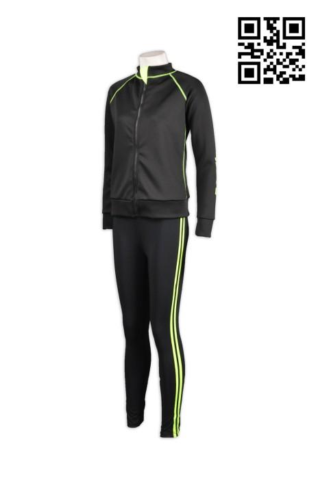 TF003訂做緊身套裝  自製運動套裝  訂購團體緊身運動服 修身運動裝服務中心  運動套裝批發
