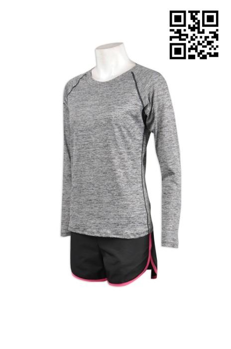 TF008專業訂製運動套裝 緊身運動裝搭配  設計運動服專門店 來辦訂購緊身運動裝公司