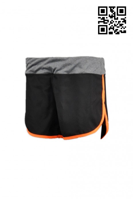 TF014來樣訂購運動短褲 訂製團體跑步短褲 設計運動褲款式  緊身運動褲供應商HK