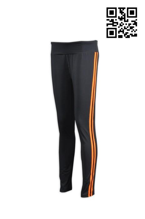 TF015訂造緊身運動長褲 專業訂購跑步運動褲  自製緊身跑褲 緊身褲英文 緊身褲供應商HK