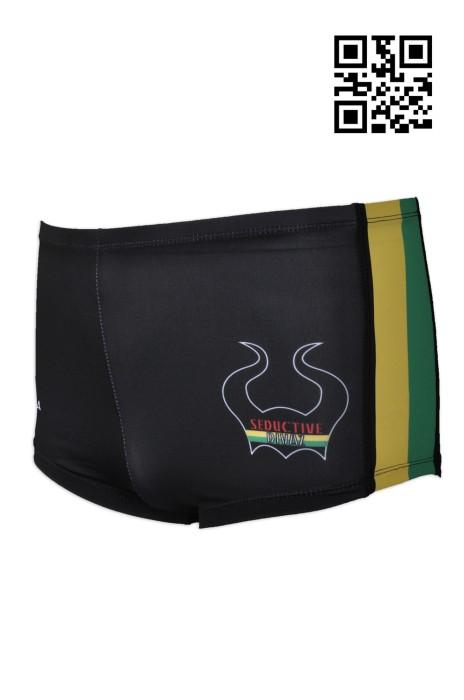 TF059  個人設計logo泳褲  大量訂造專業泳褲  網上下單緊身泳褲  泳褲製衣廠