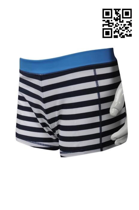 UW027  訂造度身內褲款式    自訂橫間四角褲款式    瑞士  RB 製作男士內褲款式   內褲供應商