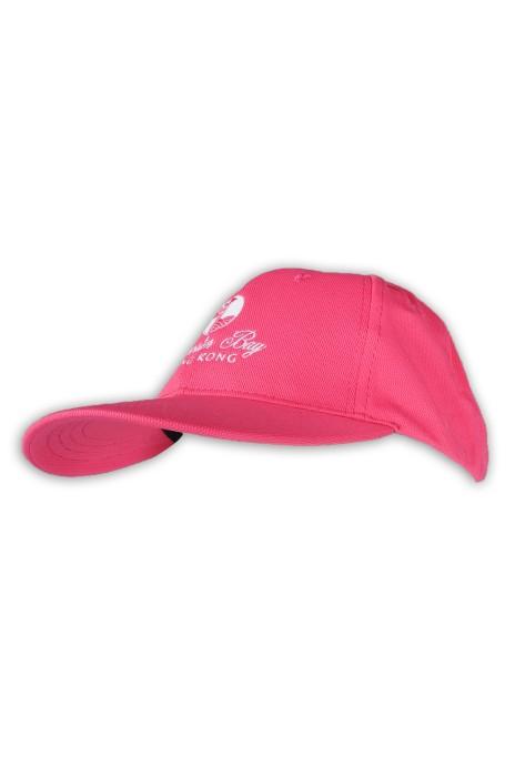 HA318 訂造粉色棒球帽 GOLF 高爾夫球 100%滌 冰涼紗 棒球帽專門店