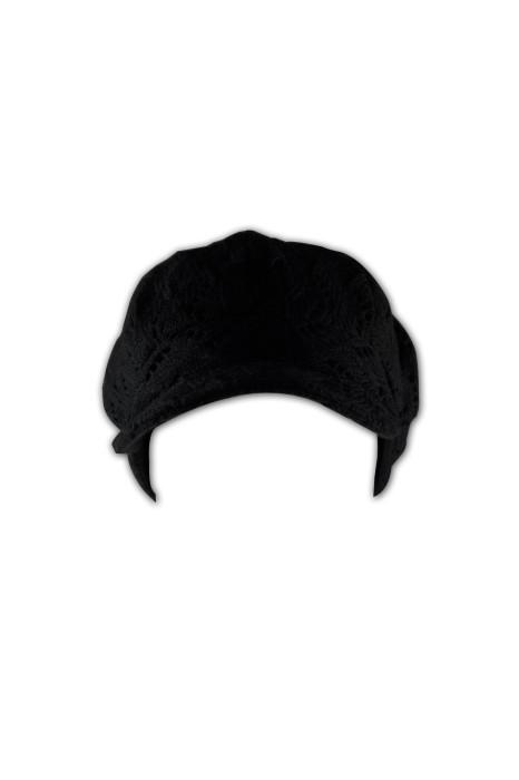 HA232 毛線寬邊畫家帽 訂做 純色針織線帽 畫家帽款式設計選擇 畫家帽公司