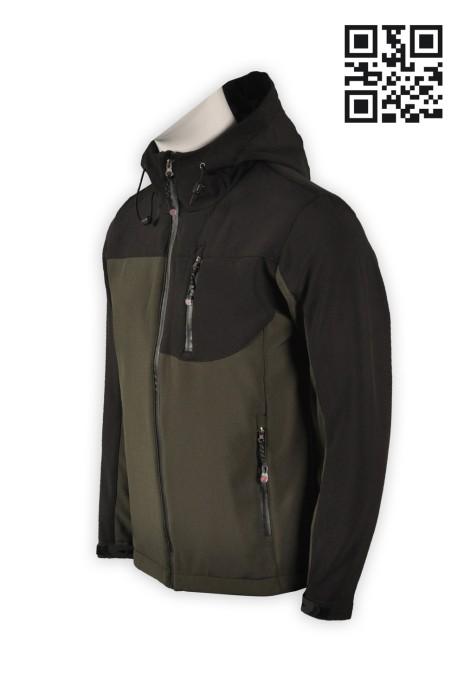 J486個性化風衣外套 整風褸外套 風衣特別推介 風褸批發 防水保暖二合一外套 二合一功能外套 風衣生產商 探險家衣服