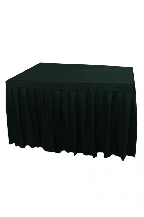 TBC044 大量訂造餐桌枱套 網上下單簽到枱套   枱套製造商 有裙腳 酒店 130cm*100cm*75cm  德望小學  100%滌