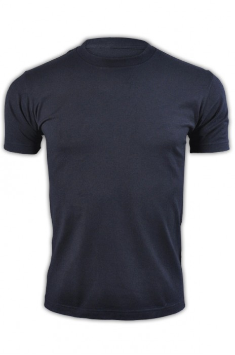 printstar 寶藍色031短袖男裝T恤 00085-CVT  修身顯瘦T恤 全棉純色T恤 T恤生產商  T恤價格   厚磅t恤