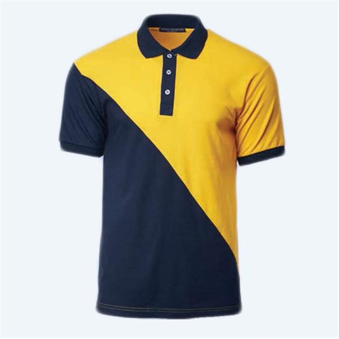 SKP013   MY-PrintLF   訂購男女POLO衫 製造運動Polo衫 Polo恤製衣廠   拼接顏色   馬來西亞出貨   NHB2100