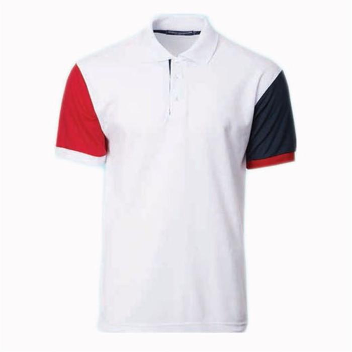 SKP014 MY-PrintLF    訂購男女POLO衫    製造運動Polo衫    Polo恤製衣廠   拼接袖顏色    馬來西亞出貨   NHB2300