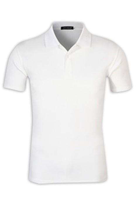 SKP016 製造淨色POLO恤 設計反領polo恤 polo恤供應商