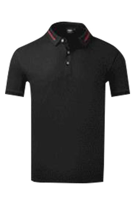 SKP022 網上下單訂購短袖POLO恤 製造撞色領POLO恤 POLO恤中心