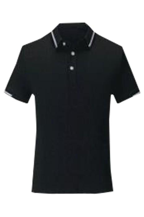 SKP023 製造短袖POLO恤 時尚設計間色領POLO恤 POLO恤中心