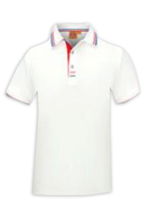 SKP025 大量訂製短袖POLO恤 設計淨色商務POLO恤 POLO恤中心 草地 滾球