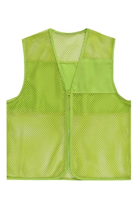 SKV003  訂購廣告網格網紗馬甲  網眼馬甲宣傳背心  義工超市工作服馬甲 背心外套製造商