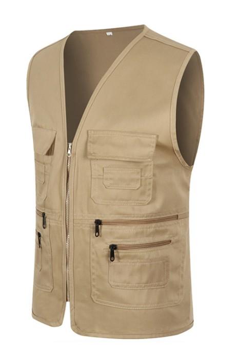 SKV005  誌願者馬甲 訂購廣告馬甲 活動宣傳服 記者戶外馬甲 背心外套製造商