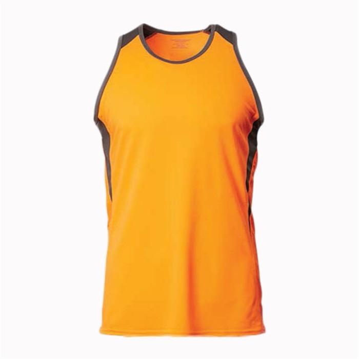 SKV012  MY-PrintLF  訂製男女圓領背心T恤 訂做百搭撞色背心T恤 背心T恤生產商 馬來西亞出貨   CRV1600