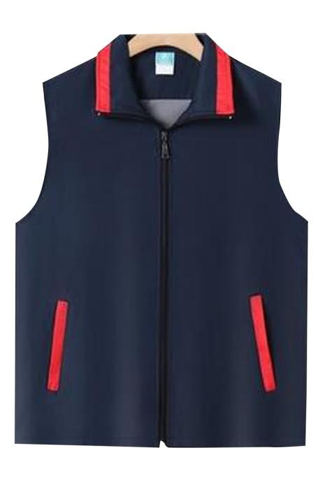 SKV017  團體訂購背心外套  訂製慈善機構活動 速遞公司 志願者義工背心外套 背心外套供應商