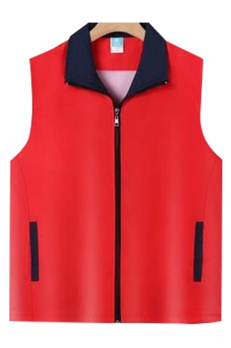 SKV018  大量訂購背心外套  訂製拼色戶外背心外套   團體系列背心外套