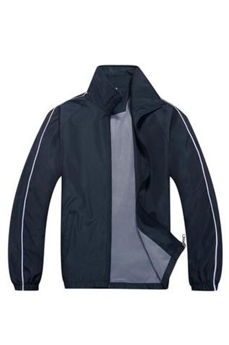 SKJ006  訂購男女工作服風褸  定制diy長袖外套戶外外套 廣告衫輕薄防水風衣  220g 水蜜桃風衣