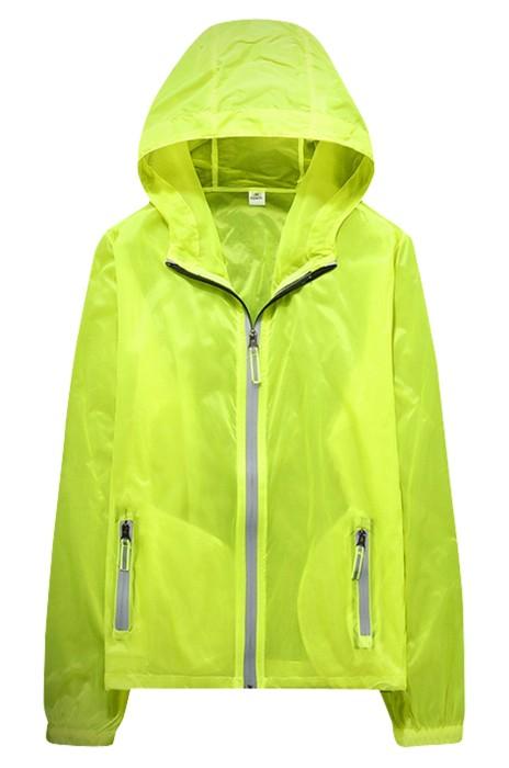 SKJ012  訂購夏季戶外防曬衣 超薄透氣大碼皮膚風褸 運動皮膚風衣 防曬服防紫外線