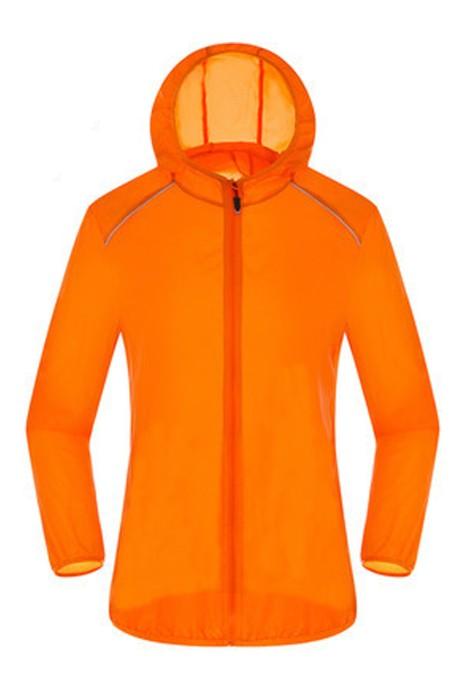 SKJ018  供應戶外防曬衣  皮膚衣 夏超薄速乾運動皮膚風衣 防曬服  超薄風衣製造商