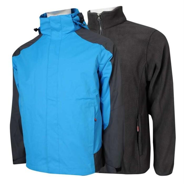 SKJ029 C02 自訂風褸外套 可拆卸兩件套 衝鋒衣 下擺可調節 防水 魔術貼 透氣網眼 風褸外套生產商