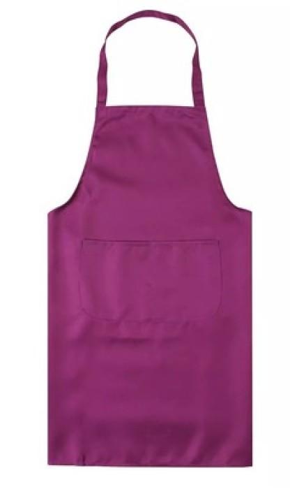 SKAP019  來樣訂造工作圍裙   供應餐飲飯店圍裙  全身圍裙 訂造家政服務員圍裙  圍裙製衣廠