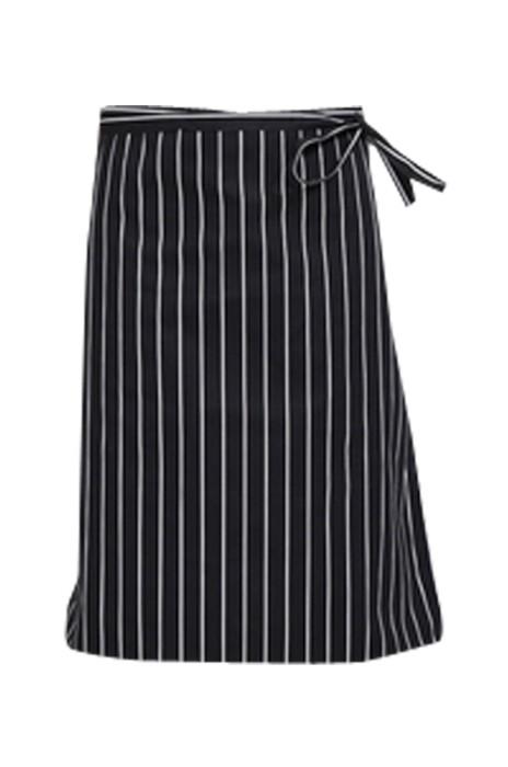 SKAP033 網上下單廚師圍裙  訂購半身圍裙 酒店快餐半截  餐廳服務員防汗圍裙