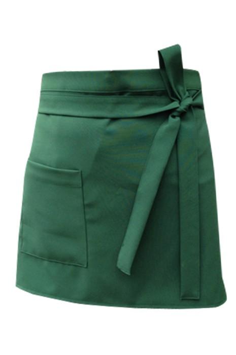 SKAP049 訂購半身圍裙 網上下單居家圍裙 圍裙製衣廠  前面綁帶款