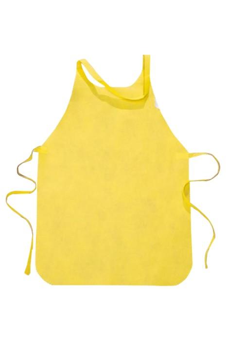 SKAP057 一次性無紡圍裙 烘焙 美容 飲食店 設計純色一次性圍裙  一次性圍裙專門店
