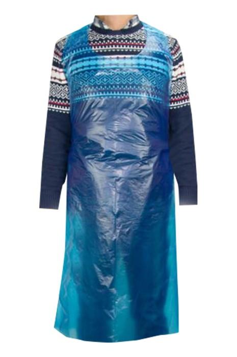 SKAP059 製造一次性塑料圍裙 防水 防油 餐飲 廚房 清潔 畫室 設計腰部綁帶圍裙 一次性圍裙中心