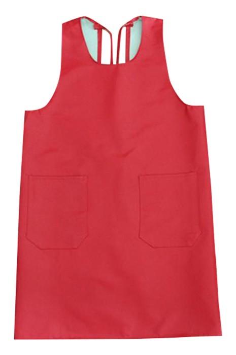 SKAP061 網上下單訂購PU圍裙  防水 防油圍裙 廚房 寵物店 淨色圍裙 圍裙中心