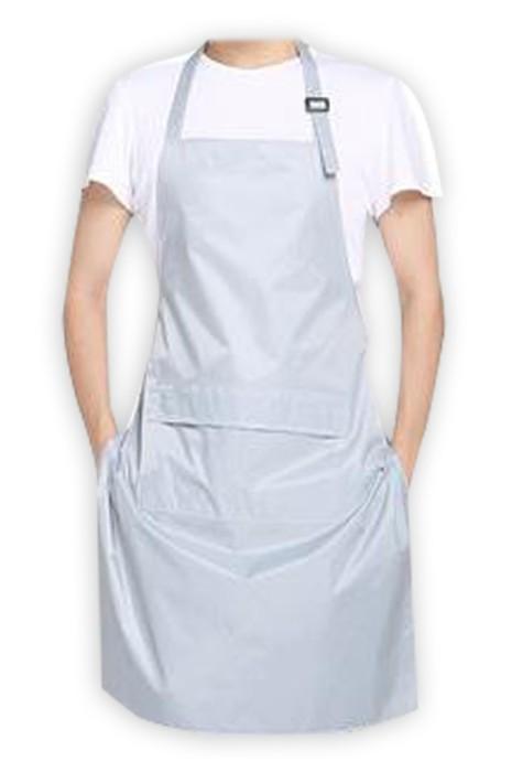 SKAP062 訂製圍裙 設計廚房 廚師圍裙 洗車房圍裙 水產圍裙 頸部調節扣  防水 防油   圍裙中心