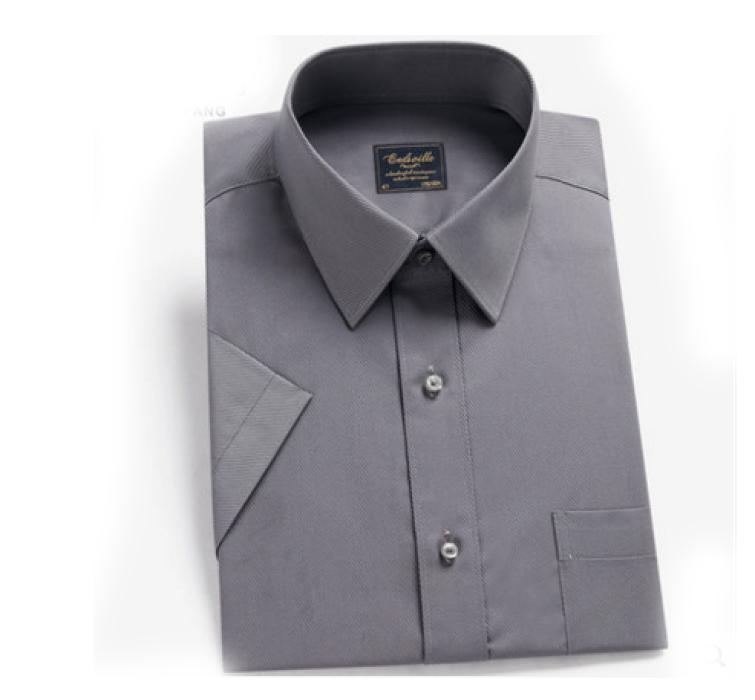 SKR002  訂購男士短袖恤衫  供應修身免燙恤衫   訂造職業正裝商務恤衫  恤衫hk中心