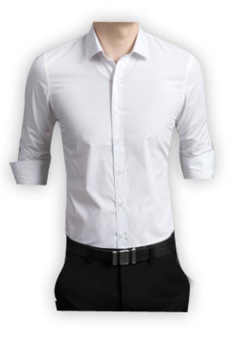 SKR003  供應男士長袖襯衫  製作休閒修身男襯衣  職業打底廣告恤衫  恤衫專門店