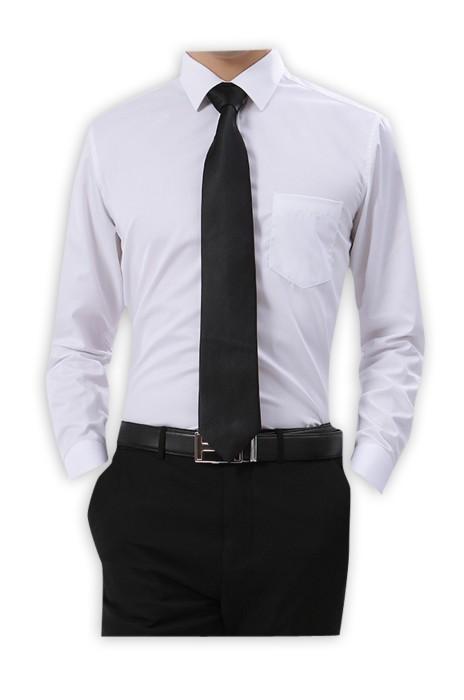 SKR010 製作職業長袖恤衫款式   訂做細細紋工作服恤衫款式    自訂男女裝恤衫款式    長袖恤衫中心