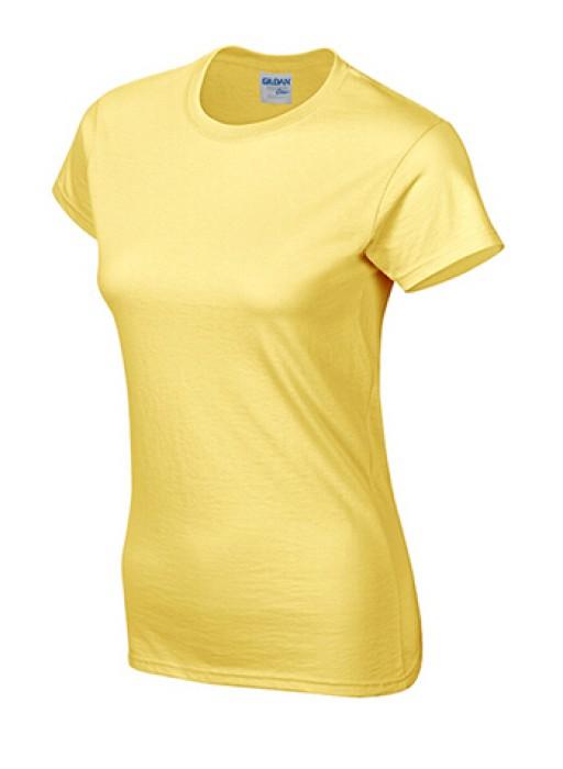 Gildan 鄒菊色 098 短袖女圓領T恤 76000L 女裝T恤速印  透氣T恤 T恤供應商 T恤價格