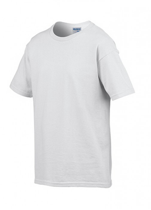 Gildan 白色 030 短袖兒童圓領T恤 76000B 童裝T恤印字 活動T恤訂製 速印T恤 T恤價格